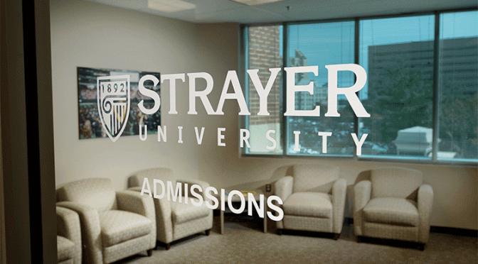 strayer admissions
