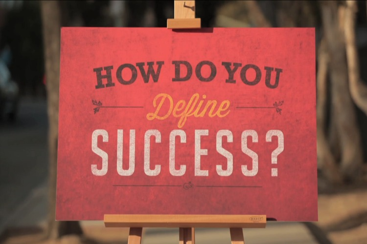 how do you define success essay Her take on success is among the best: success is liking yourself, liking what you do you will find your definition of success 10.