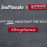 What is your one ingredient for success? #StrayerSuccess