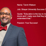 Meet the Success Coaches: Tarvin Watson
