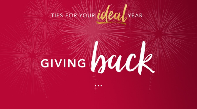 Ideal Year: Giving Back