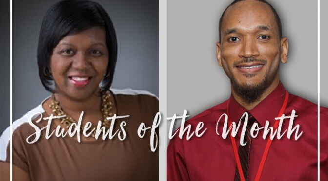 Strayer students of the month
